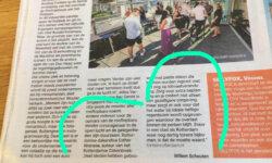 Mooi artikel in De Telegraaf van 11 juli 2020 over Rooftop Bars in Nederland, met een quote van mij.